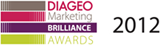 Diageo Marketing Brilliance Award 2012 Logo